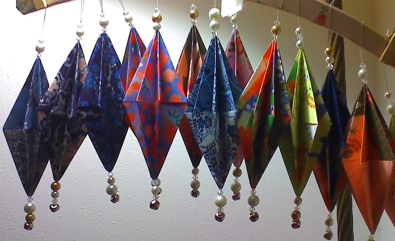 Origami maniacs origami ornament for christmas