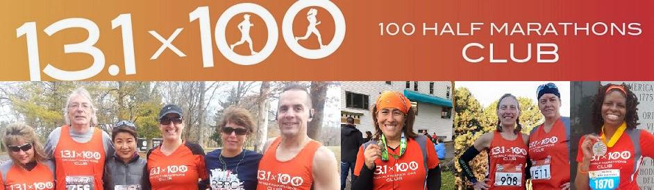 100 Half Marathons Club Blog