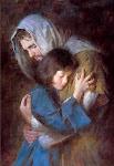 Nos braços de Jesus