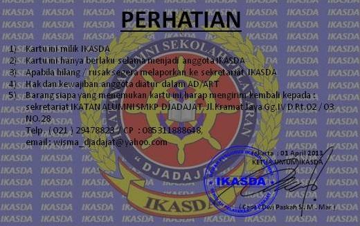 Diposkan oleh sekretariat ikasda di 01:43