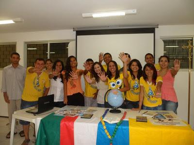 Jovens missionários de Fortaleza/CE divulgam Obra da Propagação da Fé
