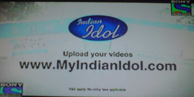 Indian Idol 6 Online Auditions