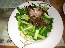 台南西門路二段273號度小月創始人洪芋頭單仔麵韭菜
