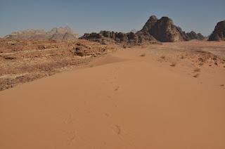Dunas en Wadi Rum