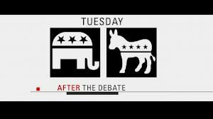 Three Immediate Post Debate Reactions