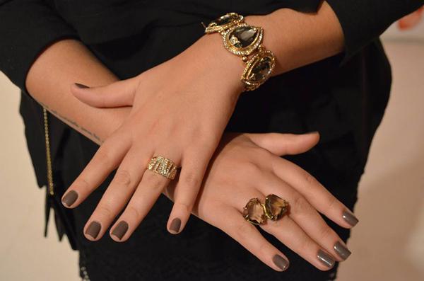 acessorios festa - gabriela pires - bracelete e anel de pedra
