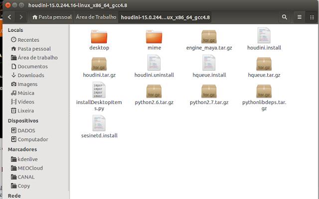 Houdini Linux