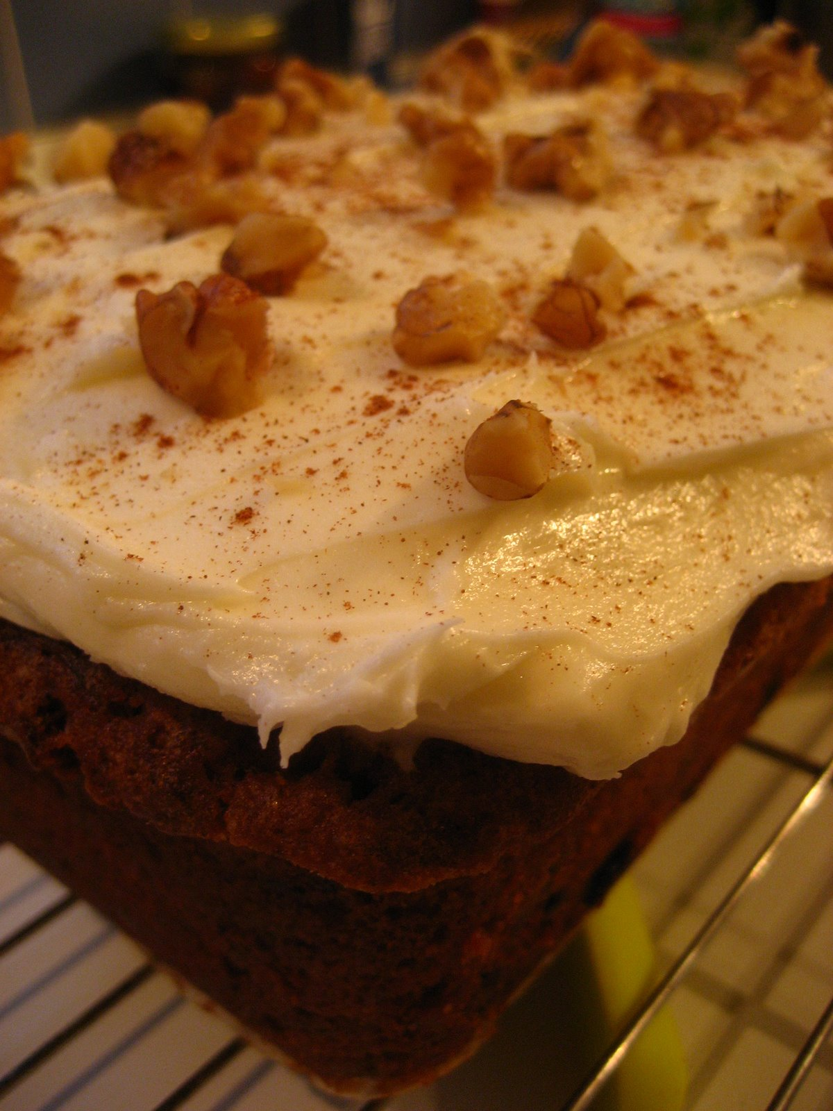 Does Carrot Cake Have Orange Juice In It