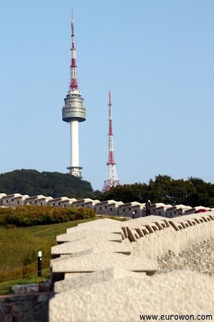 Torre N de la montaña Namsan