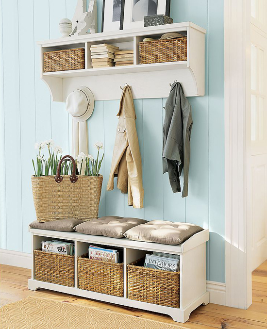 An entryway storage chest you can't help but to love. This DIY entryway storage chest is the perfect project for your home entryway. The hidden storage gives it the perfect balance of functionality and decorative. Giving entryway storage a whole new name.