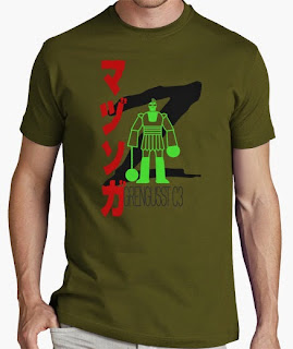 camiseta mazinger z grengusst c3 boss
