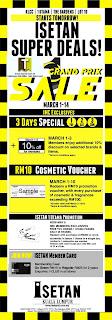 ISETAN Super Deals Grand Prix Sale 2013