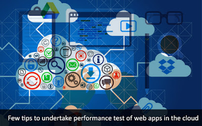 Tips of Performance Test of Web Apps in the Cloud