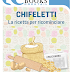 """In uscita: """"CHIFELETTI - LA RICETTA PER RICOMINCIARE"""" di Monica Lombardi"""