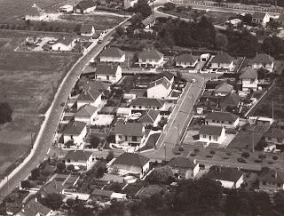 Vue aérienne - Cour-Cheverny 1976