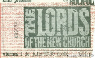 entrada de concierto de the lords of the new church