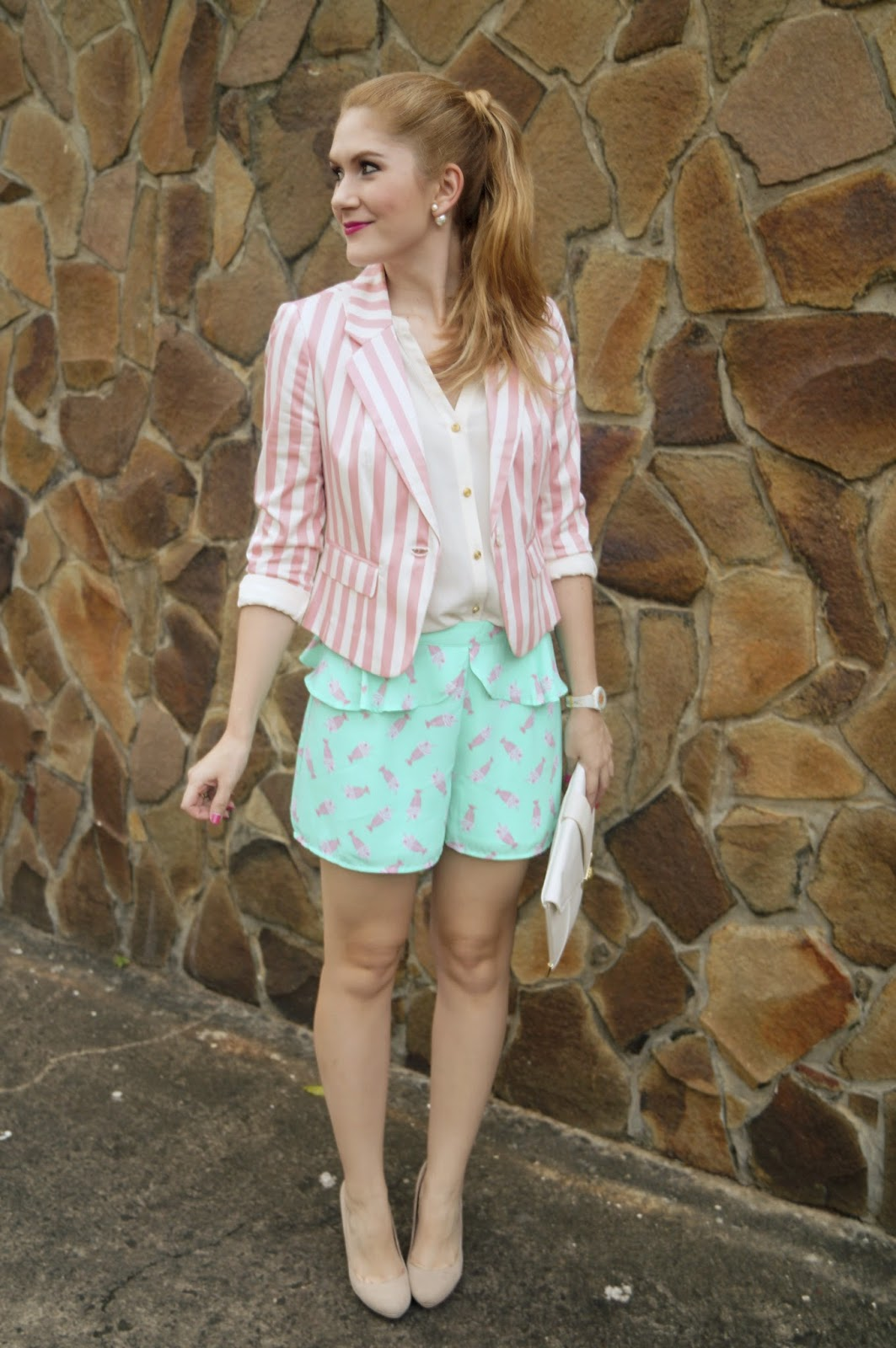 Cute Spring Outfit in Pastel Colors