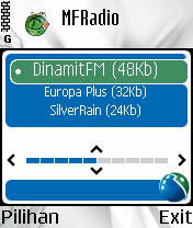 streaming radio via HP