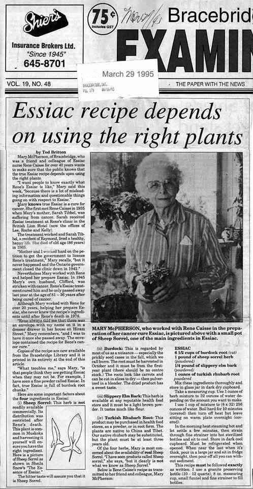 notícia 29 Março 1995