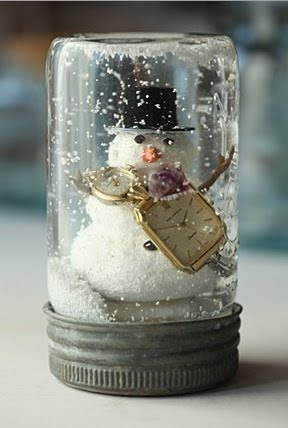 Homemade Snow Globe Cooking Up Crafts