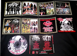 OBSESSOR/STORMING STEELS''ultimate thrashing demons''-split CD