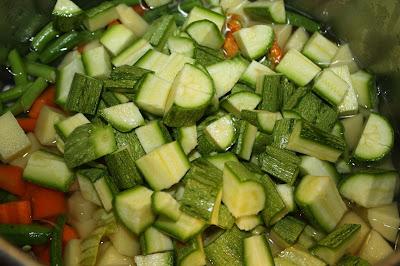 ricetta minestrone zucchine
