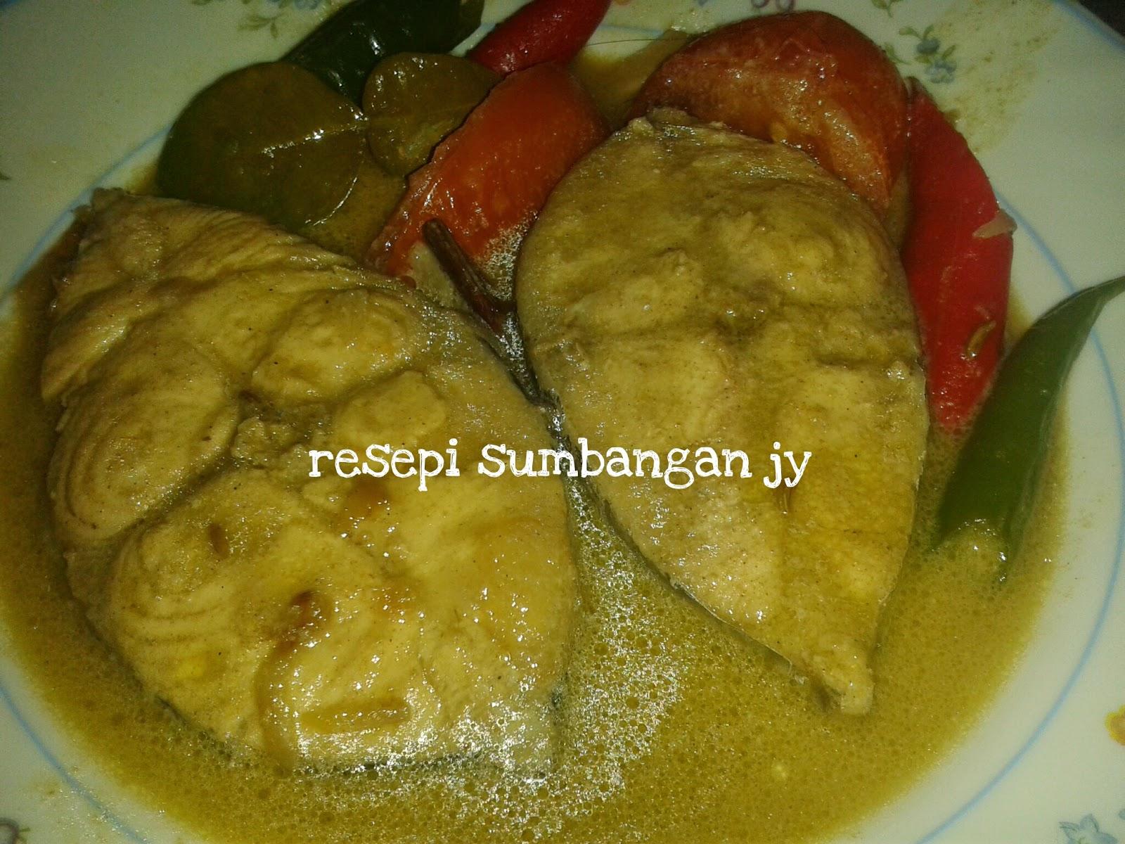 606 Ikan Tenggiri Masak Kurma Cook And Post