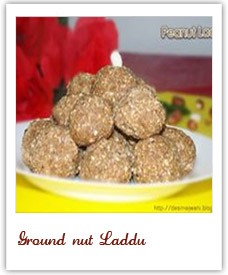 Ground nut Laddu