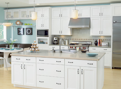Kitchen Cabinet White