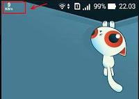 Cara Mengetahui atau menampilkan Kecepatan Internet di Android