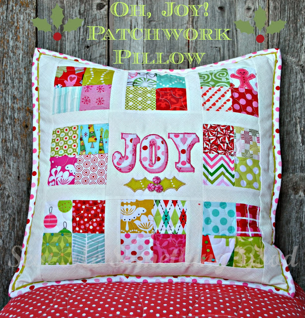 Oh, Joy! Patchwork Pillow Pattern