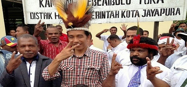 Agen CIA Ditangkap di Papua, Jokowi Harus Tegas, Buktikan pada Rakyat Jika Jokowi Bukan Presiden Antek Asing.