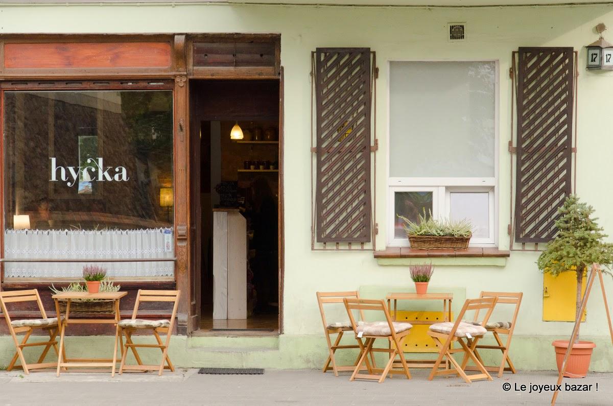 Poznan - terrasse