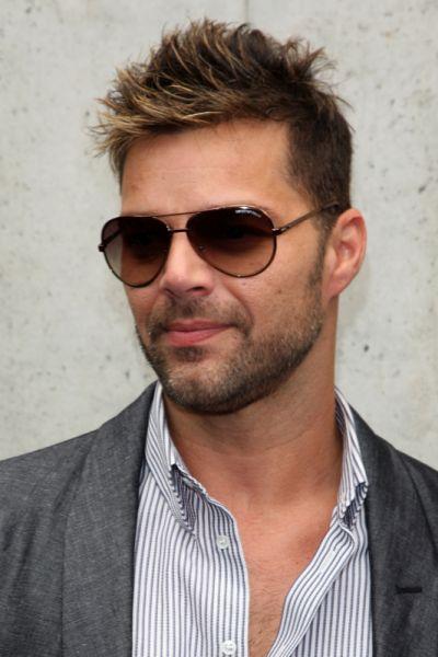 ricky martin gay. O cantor Ricky Martin disse no