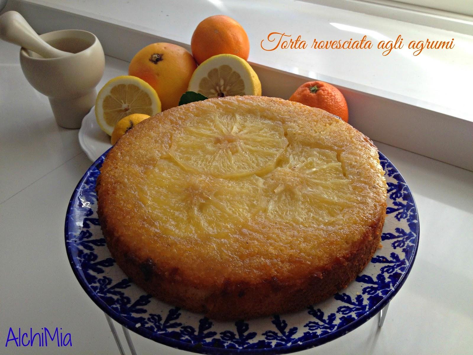torta speziata agli agrumi per un compleanno speciale