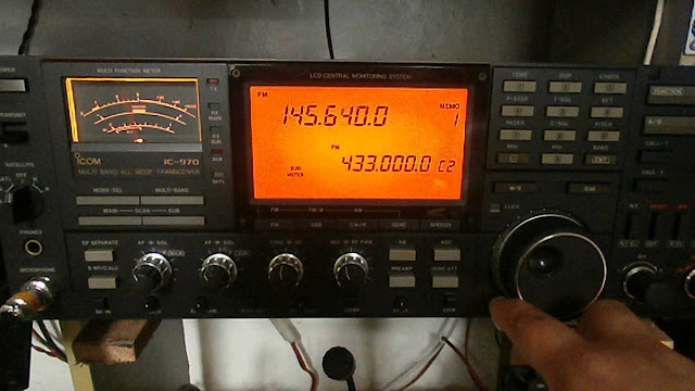 Icom IC-970 Transceiver
