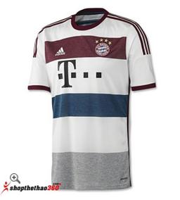 Áo đấu Bayern Munich 2014-2015 sân khách