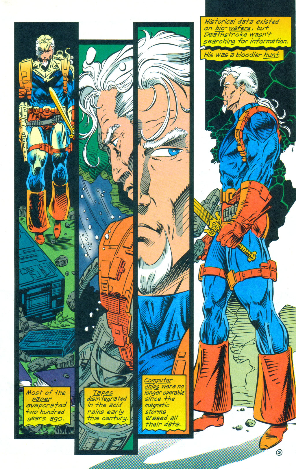 Deathstroke (1991) Annual 3 #3 - English 4