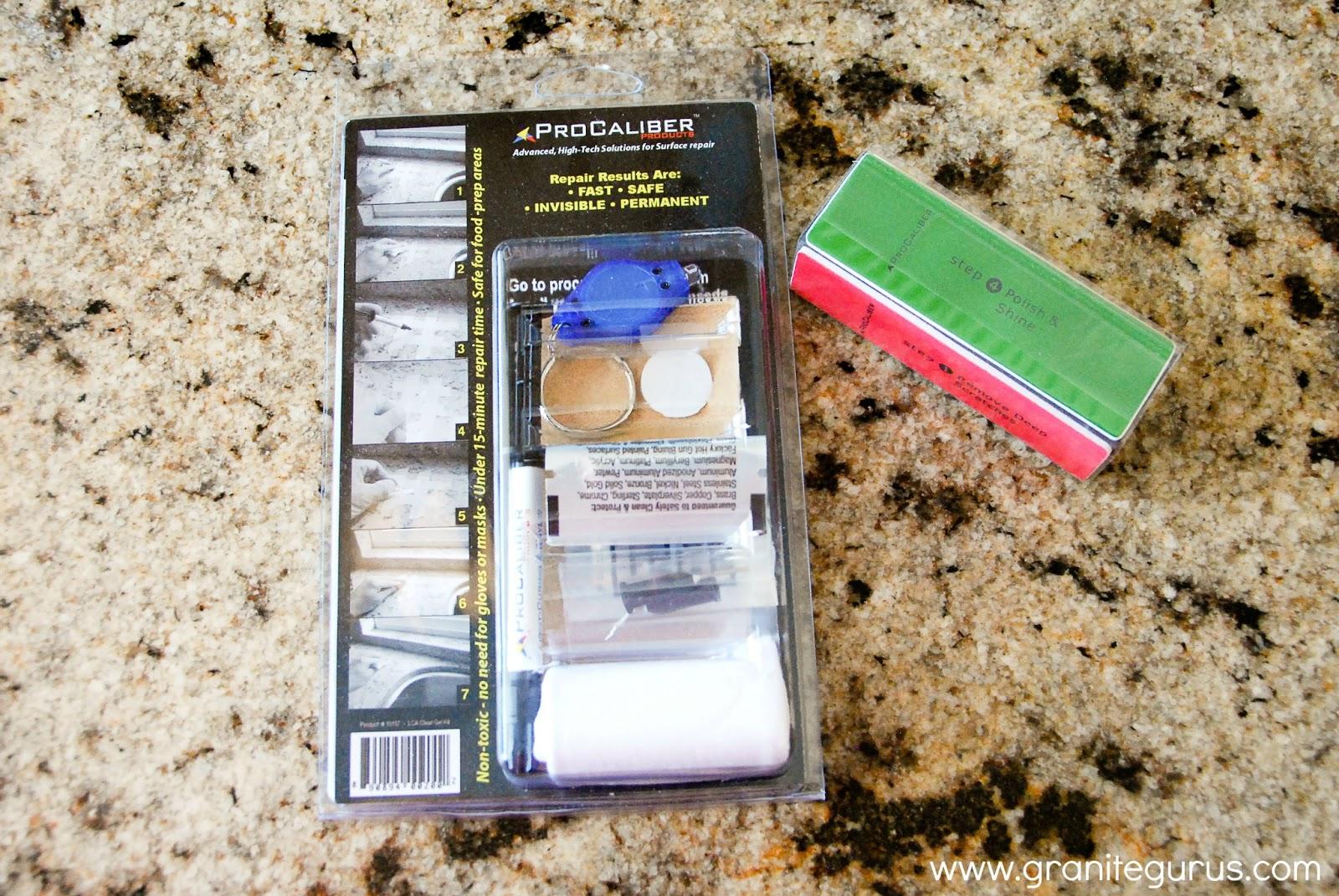 Countertop Repair Kit : ... : Product Review: ProCaliber Products Granite/ Marble Chip Repair Kit