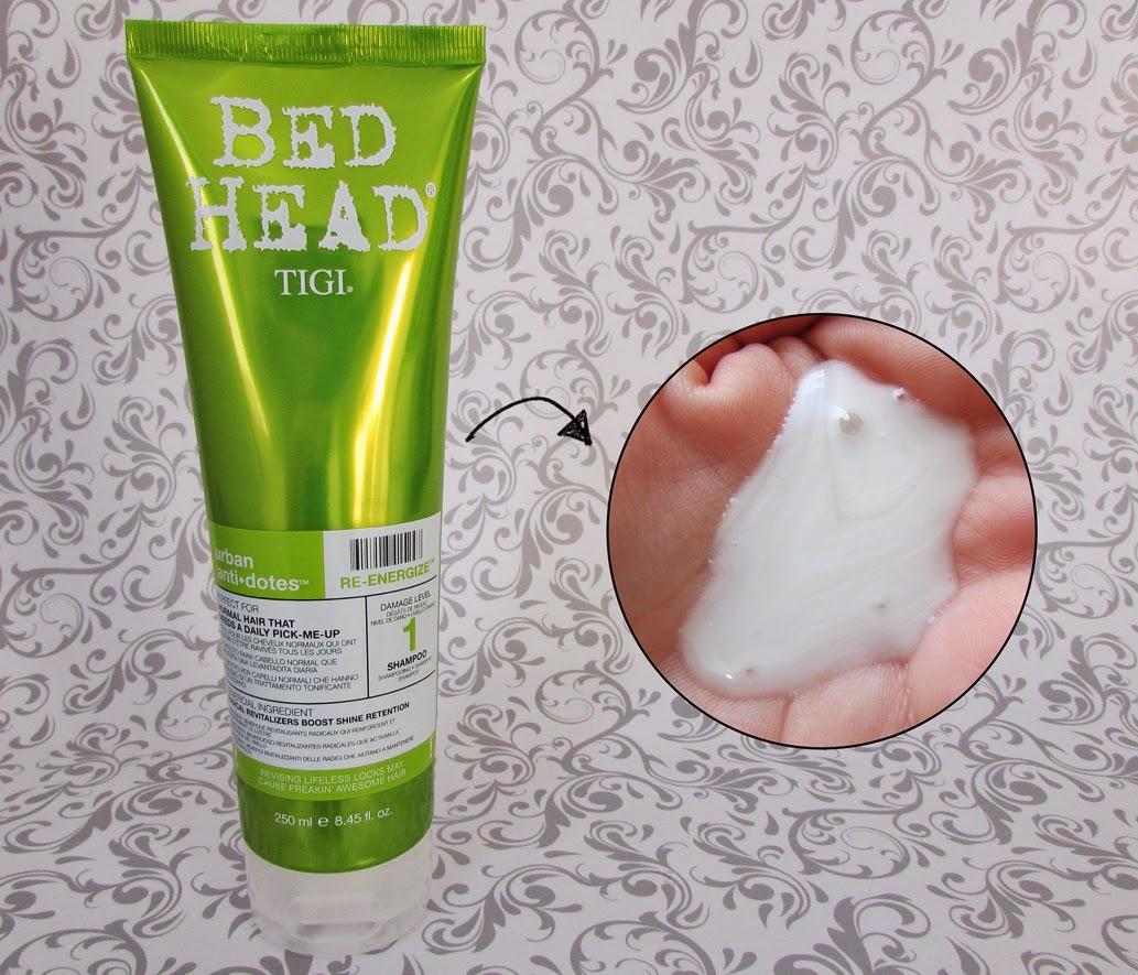 Shampoo, Urban Antidotes Re-Energize, TIGI Bed Head