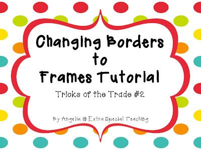 Fall Borders & Frames