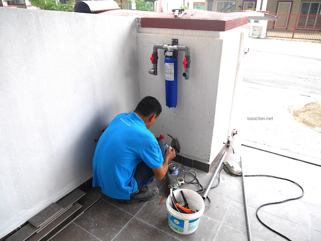3M Malaysia Water Filter Installation AP902 Outdoor