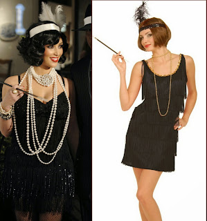 Black Flapper Costume