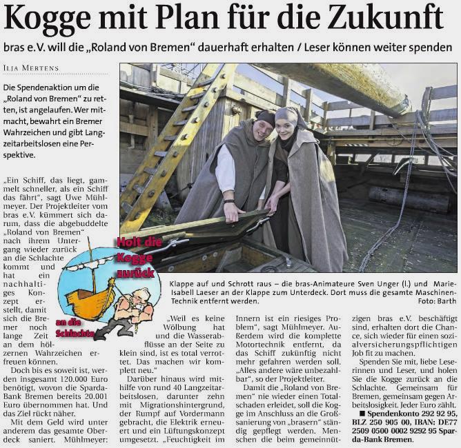 Weser Report vom 12.03.2015
