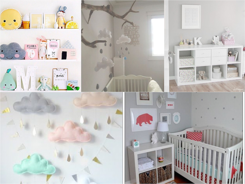 It mum como decorar la habitaci n del beb inspiraci n deco for Ideas decoracion habitaciones bebes