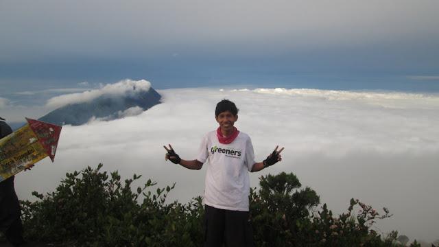 Saat di Gunung Merbabu
