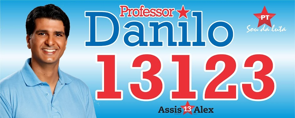 Professor Danilo-Vereador