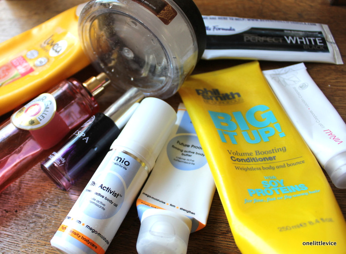 one little vice beauty blog: bodycare empties
