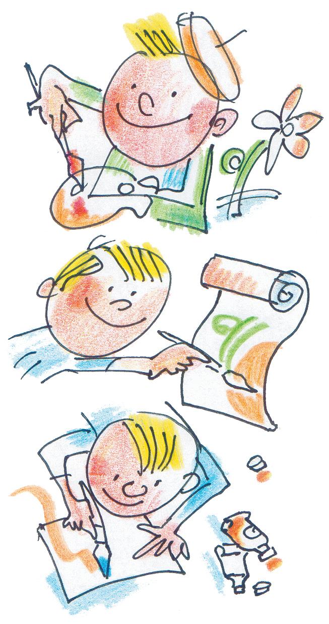 Как рисовать тело человека в профиль по шагам