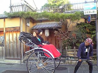 Japanese rickshaw